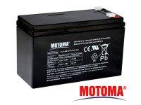 Baterie olověná 12V 7Ah MOTOMA APC RBC110 bezúdržbový akumulátor