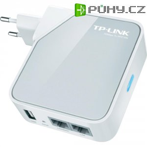 Router/TV adaptér/repeater nano TP-LINK TL-WR710N, 150Mb/s, 2 LAN porty
