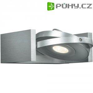 Nástěnné LED svítidlo Philips Ledino, 53150/48/16, 1x 7,5 W, stříbrná