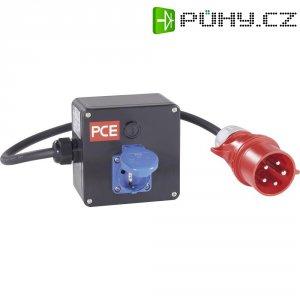 CEE rozdělovač PCE, 9848071, zástrčka 32 A ⇒ zemnící kontakt, IP44