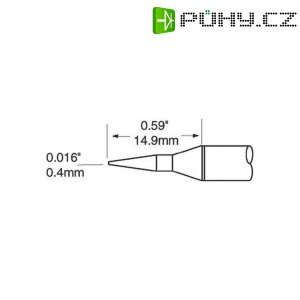 Pájecí hrot OKI by Metcal SFP-CNL04, kulatý, 0,4 mm