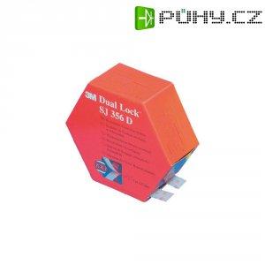 Lepicí pásek se suchým zipem 3M SJ 356D Dual Lock, (d x š) 5000 mm x 25 mm, průsvitná, 1 pár