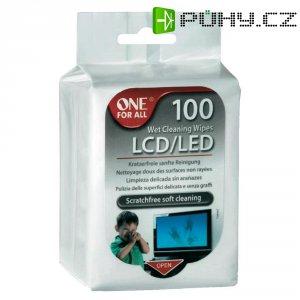 Čisticí ubrousky SV 8405 LCD/LED, 1 balení