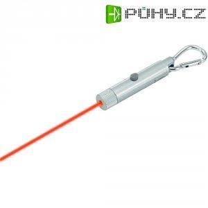 Laserové ukazovátko, přívěsek na klíče, dosah max. 100 m