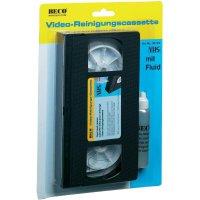 Čistící VHS kazeta Beco 302.09, s čisticím prostředkem