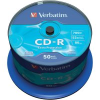 CD-R 80 700 MB Verbatim 43351 50 ks vřeteno