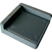 Tlumicí rohová podložka PB Fastener 121845, (d x š x v) 75 x 75 x 25 mm, šedá, 1 ks