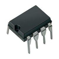 12bitový, sériový, int. ref., 14 µs Rail to Rail Linear Technology LTC1451CN8, DIP 8
