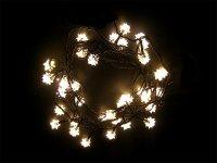 Vánoční osvětlení - diamant 4M IP44 teplá bílá,40LED