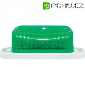 LED stroboskop, 7,62 Hz a 24,75 Hz, zelená