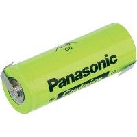 Akumulátor NiCd Panasonic 3/2 D s pájecími kontakty, 7000 mAh