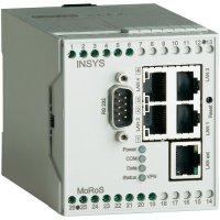 LAN router Insys MoRoS 10000208, 110 x 70 x 75 mm, 10 - 60 V/DC