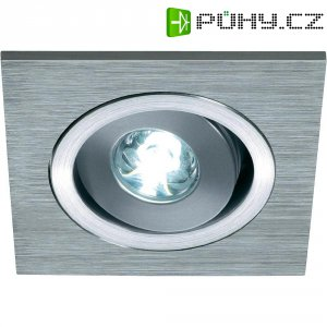 Vestavné LED světlo SLV Lelex, 1 W, 350 mA, kartáčovaný hliník