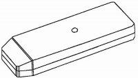 Krabička plastová KPDO1 (Z14) 150x49x22mm