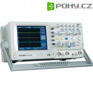 Digitální paměťový osciloskop Voltcraft VDO-2102, 2 kanály, 100 MHz