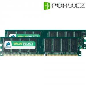 Operační paměť do PC Corsair, VS1GBKIT400, DDR-RAM, 400 MHz, 2x 512 MB