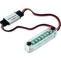 LED ukazatel napětí Modelcraft, JR konektor