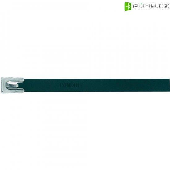 Hliníkový stahovací pásek 362 x 7,9 mm, černý, Panduit-MLT4H-LPALBL 222 N - Kliknutím na obrázek zavřete