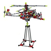Stavebnice Block intellect 254-3 Vrtulník