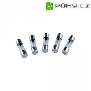 Jemná pojistka ESKA rychlá 0.16A FLINK 520.609, 250 V, 0,16 A, skleněná trubice, 5 mm x 20 mm, 10 ks