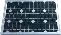 Fotovoltaický solární panel 12V/30W/1,55A monokrystalický