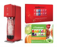 Sodastream sada SOURCE Red new + 2x PP12