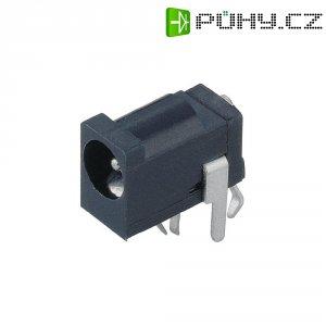 Napájecí konektor, 3 A, zásuvka vestavná horizontální, 4,2/4,2 mm