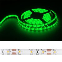 LED pásek 3528 60LED/m IP54 4.8W/m zelená (1ks=cívka 5m) zalitý