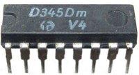 D345D - převodník BCD/7.segment, DIL16 /SN7447N/