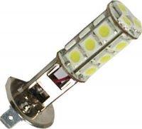Žárovka LED H1 12V / 3W bílá, 18xSMD5050