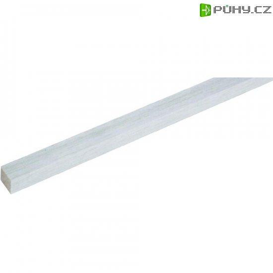 Dřevěný hranol z balsy 500 x 40 x 40 mm - Kliknutím na obrázek zavřete