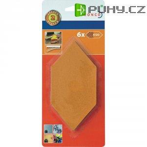 Brusné papíry 120 pro ruční brousek Dronco 150 x 75 mm