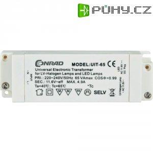 Transformátor pro LED a halogeny, 220 - 240 V/50 - 60 Hz ⇒ 11,6 V, bílá