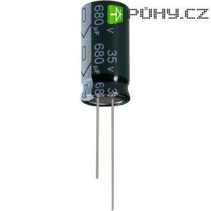 Kondenzátor elektrolytický Jianghai ECR1CGC222MFF751620, 2200 µF, 16 V, 20 %, 20 x 16 mm