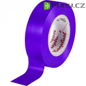 Izolační páska Coroplast, 302, 19 mm x 25 m, fialová