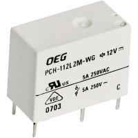 Miniaturní Power-Print relé OJ TE Connectivity 1721768-5, PCH-112L2M-WG, 5 A, 400 V/AC 1250 VA