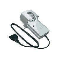 Zásuvkový detektor úniku vody s externím senzorem Schabus Aquastopp SHT 216 300260, 230 V