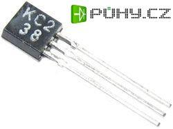 KC238A N UNI 20V/0,1A (ß=120-220) TO92 /BC238A/