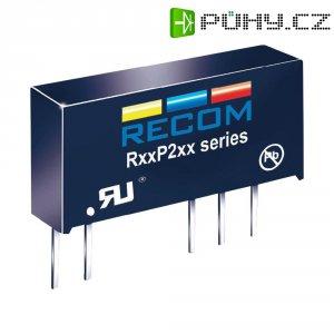 DC/DC měnič Recom R05P205S (10003736), vstup 5 V/DC, výstup 5 V/DC, 400 mA, 2 W