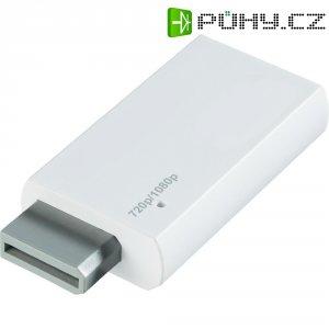 Wii / HDMI adaptér 989267, [1x WII AV zástrčka - 1x HDMI zásuvka], bílá