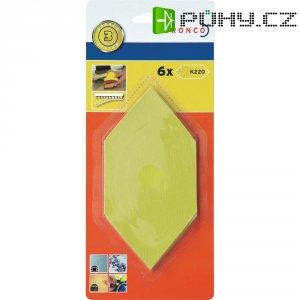 Brusné papíry 220 pro ruční brousek Dronco 150 x 75 mm