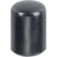 Patka na trubku PB Fastener 009 0130 220 03, 13,0 x 18,0 mm, černá