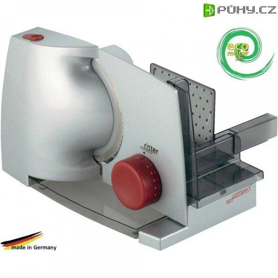 Kráječ potravin Ritterwerk Compact 1, 518.000, 65 W, stříbrná/šedá - Kliknutím na obrázek zavřete