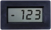 Panelové měřidlo 199,9mV PM428 LCD voltmetr panelový digitální