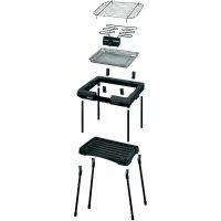 Stolní elektrický gril Unold 58550, 2000 W, černá