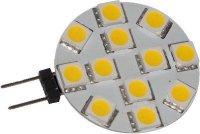 Žárovka LED G4 12xSMD5050 bílá, 12V/2W