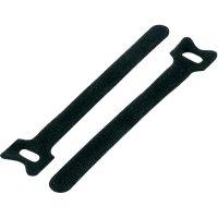 Stahovací páska se suchým zipem KSS MGT-310BK, 310 mm x 16 mm, černá