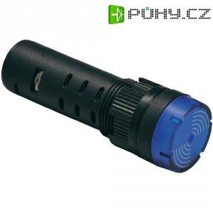 LED signálka Barthelme 58931212, 12 V DC/AC, 16 mm, blikající, žlutá