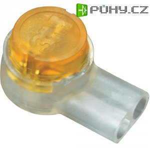 Svorka 3M Scotchlok, 80-6113-2772-9, 0,13 - 0,38 mm², 2pólová, žlutá
