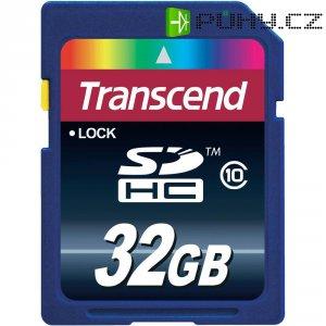 Paměťová karta SDHC Transcend 32 GB, Class 10